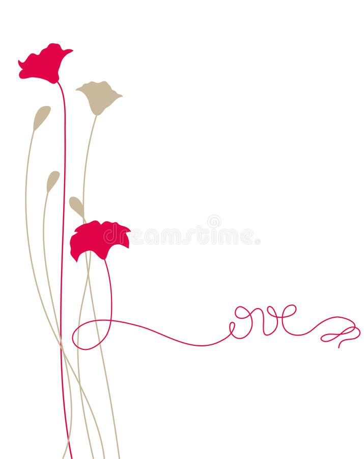 Download Love stock vector. Image of leaves, background, spring - 14851520