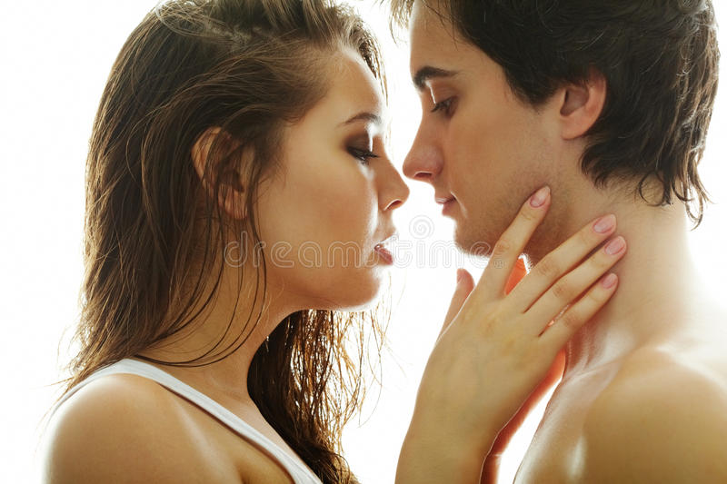 Download In love stock photo. Image of handsome, couple, closeup - 21260228