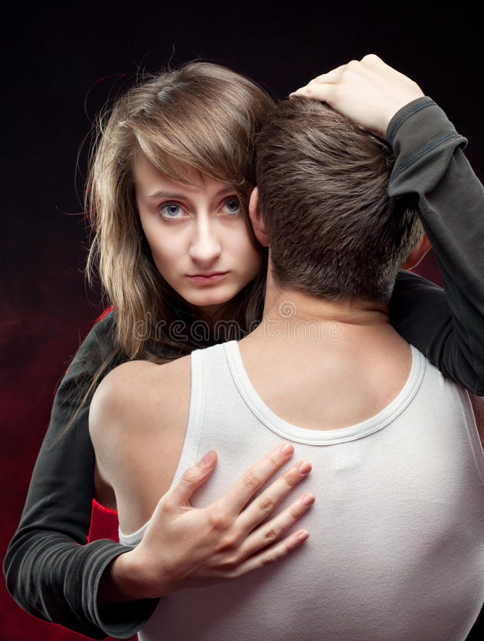 Download Love stock image. Image of face, pair, attractive, embrace - 24898633