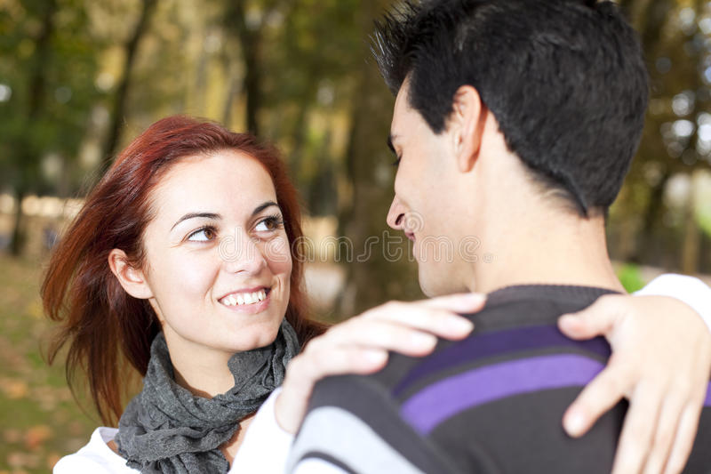 Download Love And Affection Between A Young Couple Royalty Free Stock Image - Image: 16975996
