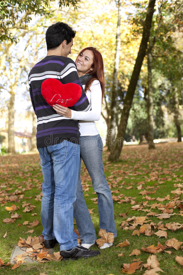 Download Love And Affection Between A Young Couple Stock Image - Image: 17948293