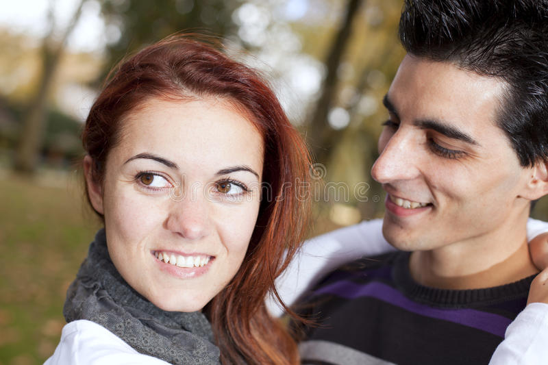 Download Love And Affection Between A Young Couple Stock Photo - Image of leisure, laughing: 22943872
