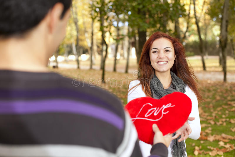 Download Love And Affection Between A Young Couple Stock Photo - Image: 23192962