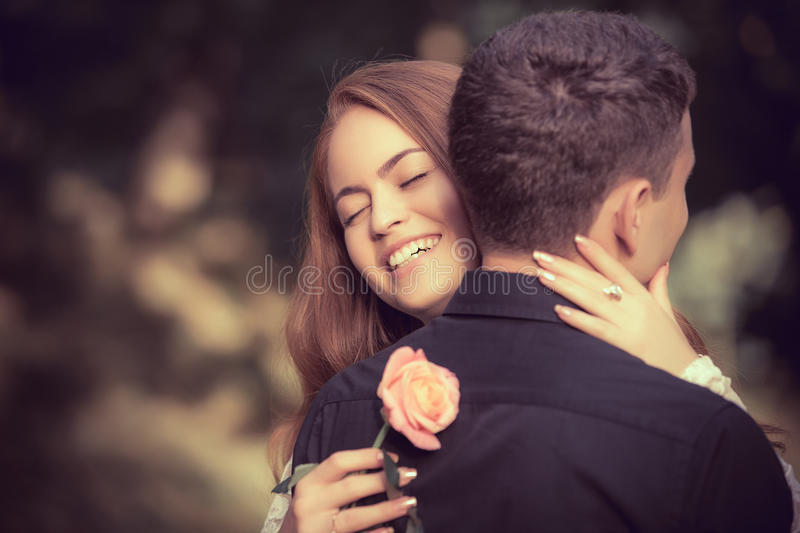 Download Love And Affection Between A Young Couple Stock Photo - Image: 30301858