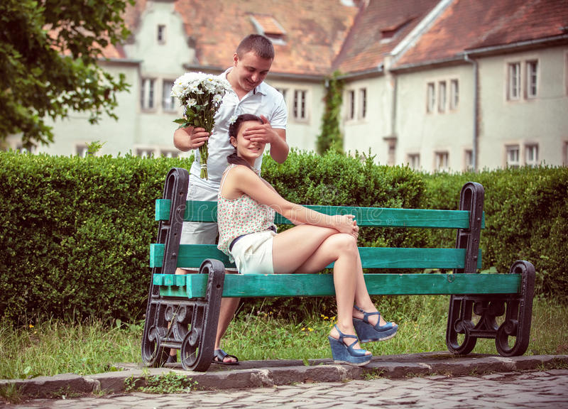 Download Love And Affection Between A Young Couple Stock Image - Image: 32712841