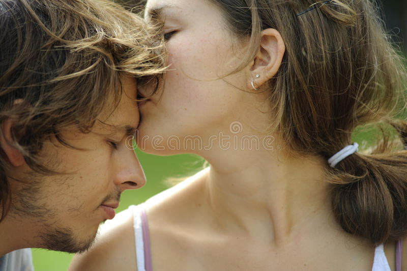 Love is in the air stock image