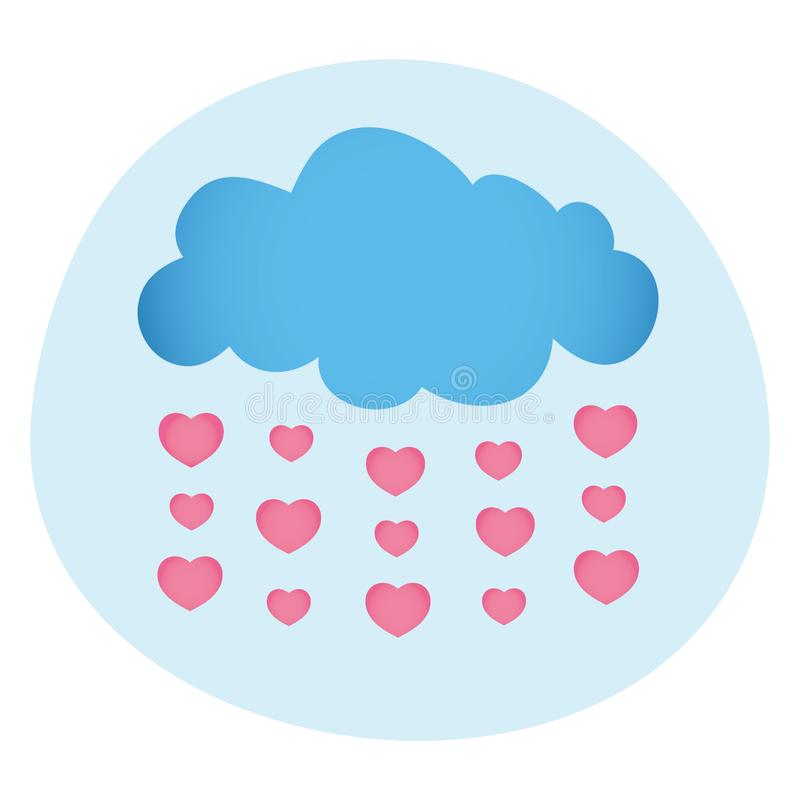 Love Is In The Air stock photography