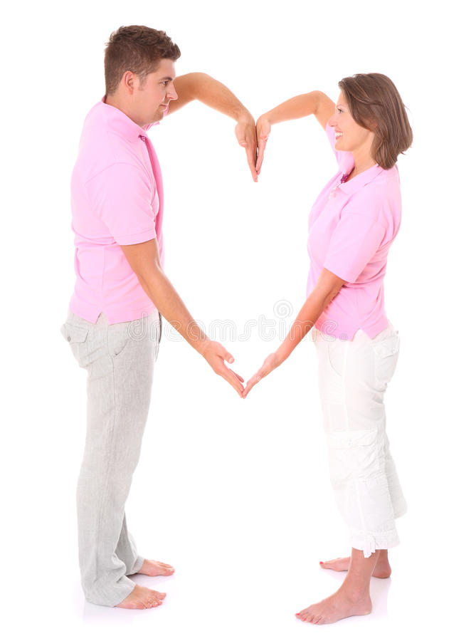 Love is in the air royalty free stock images