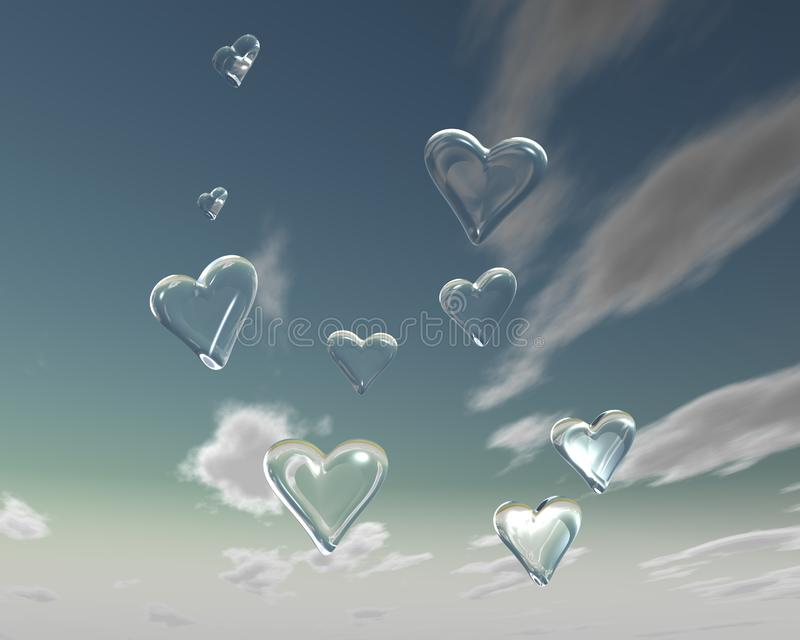 Love is in the air 3 royalty free stock images