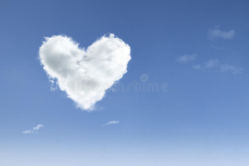 Love In The Air On Blue Sky Royalty Free Stock Photography