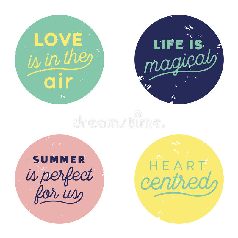 Love Air Button Pastel stock photo