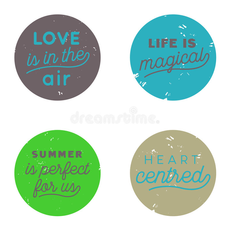 Love Air Button Trend royalty free stock images