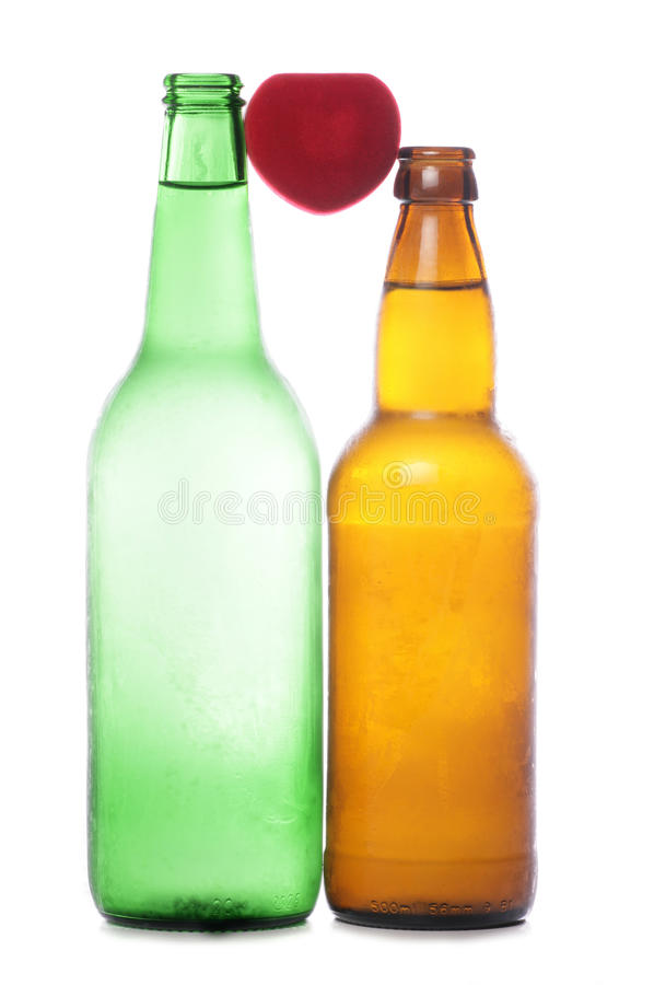 Download Love alcohol stock photo. Image of drink, heart, isolated - 18260558