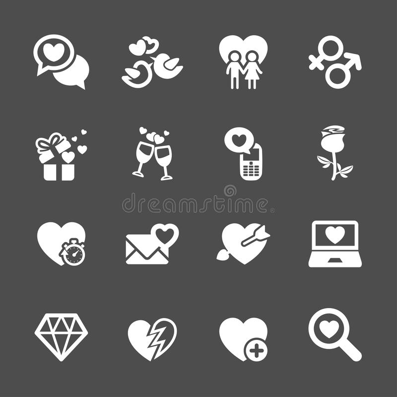 Free Love And Valentine Icon Set 5, Vector Eps10 Royalty Free Stock Image - 48925316