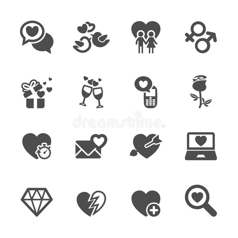 Free Love And Valentine Icon Set 5, Vector Eps10 Royalty Free Stock Photo - 48925455