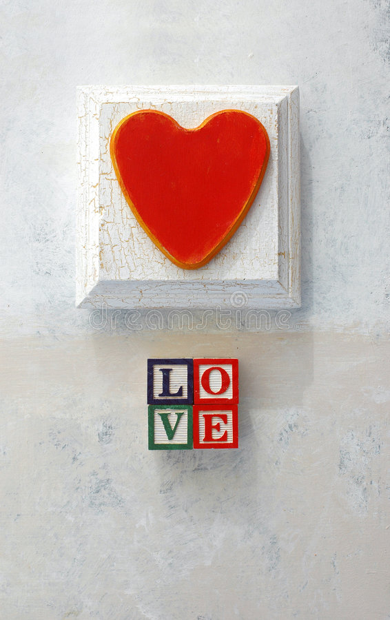 LOVE Aphabet Background stock image