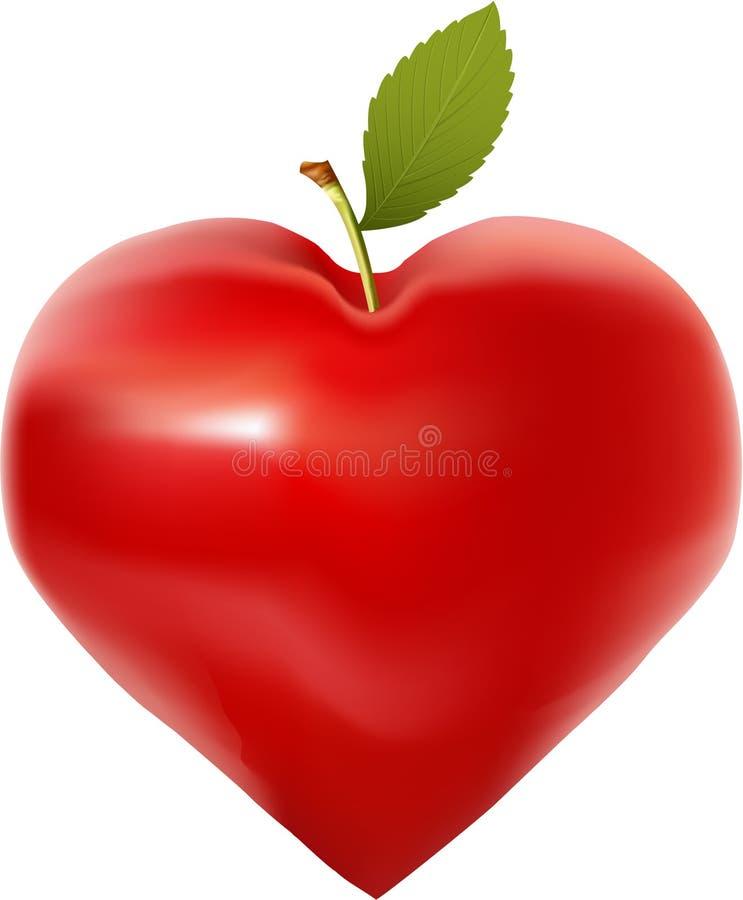 Love apple stock photo