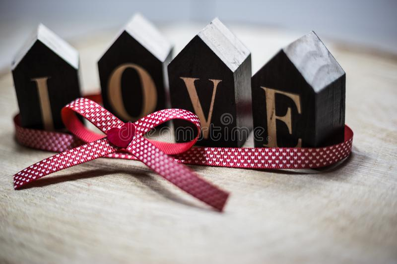 Love as a gift royalty free stock images