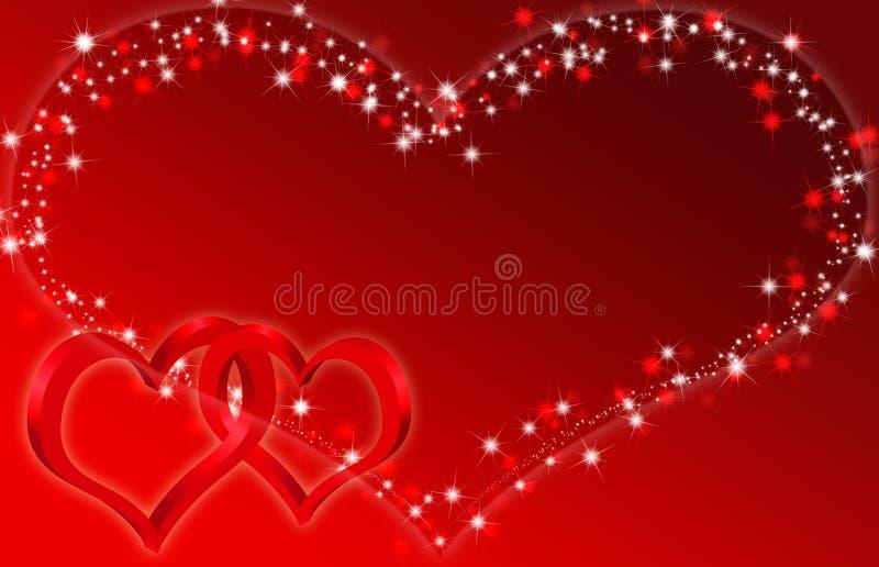 Love background vector illustration
