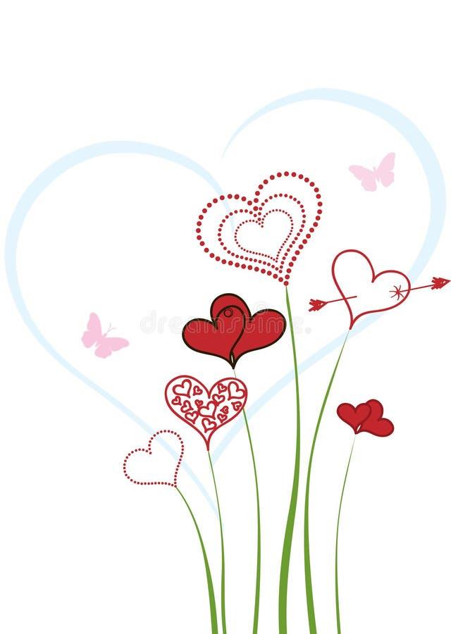 Love background. stock illustration