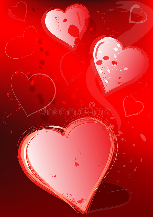 Love background stock illustration