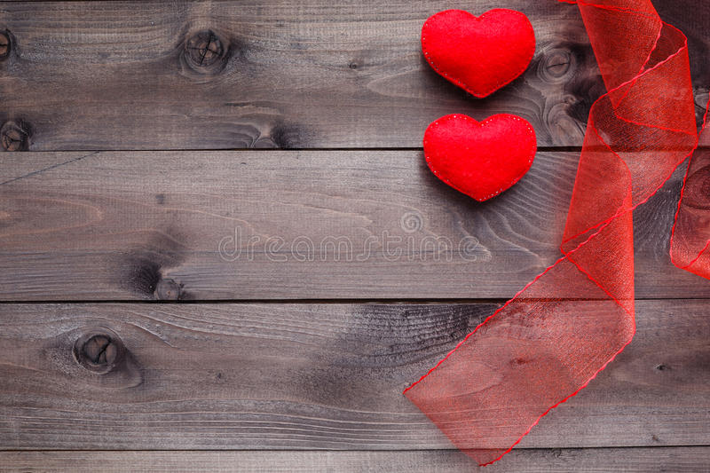 Download Love Background On Rustic Wood Stock Image