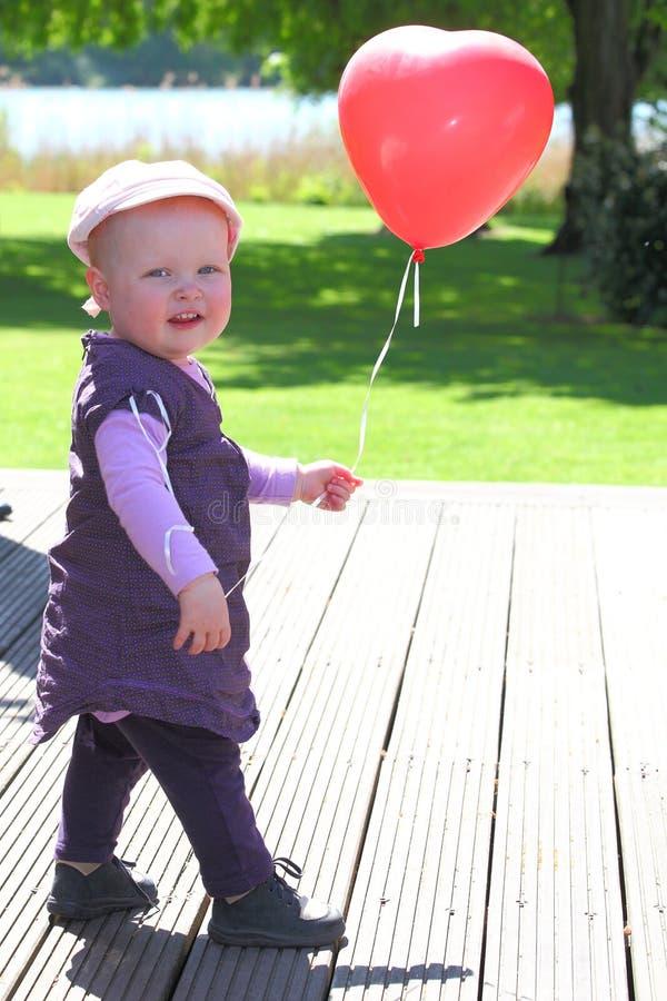 Love Ballon Stock Photography