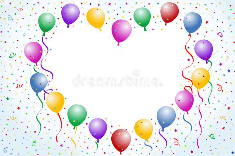 Love Balloons Royalty Free Stock Images