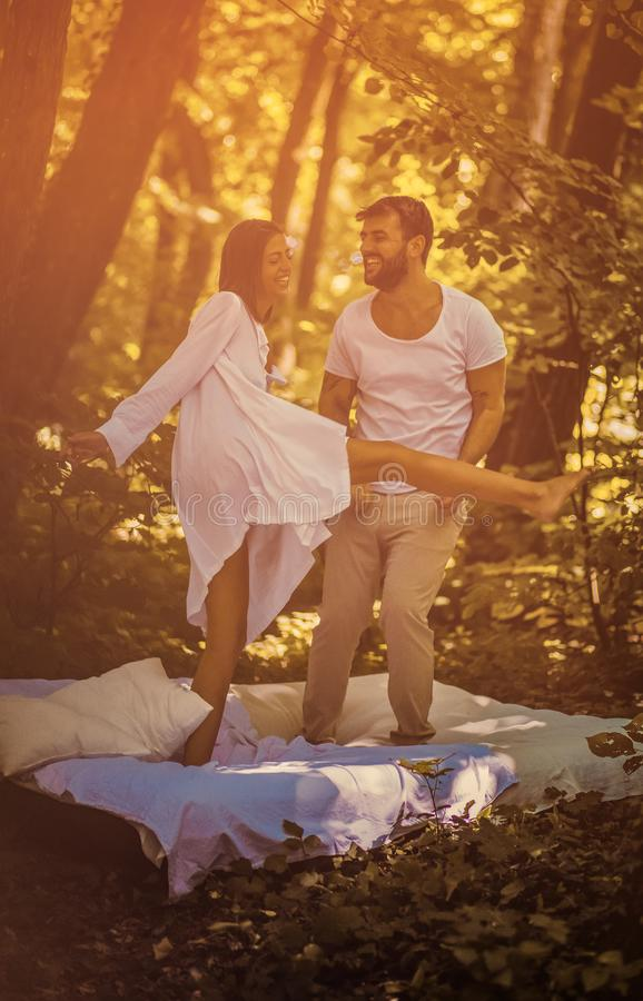 Love is beautiful when we love one another royalty free stock photo