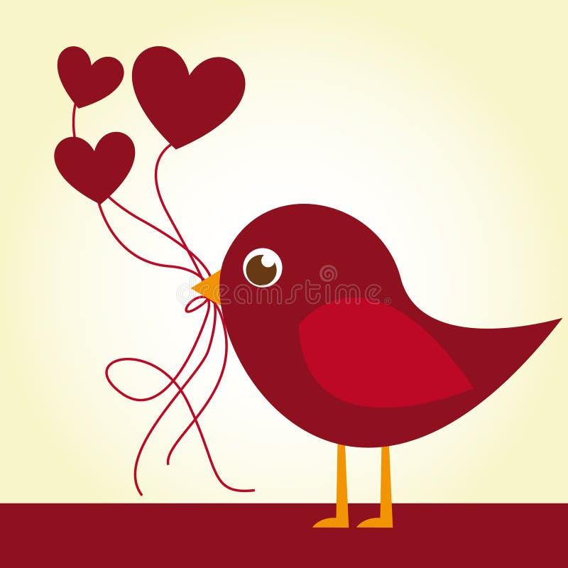 Love bird vector illustration