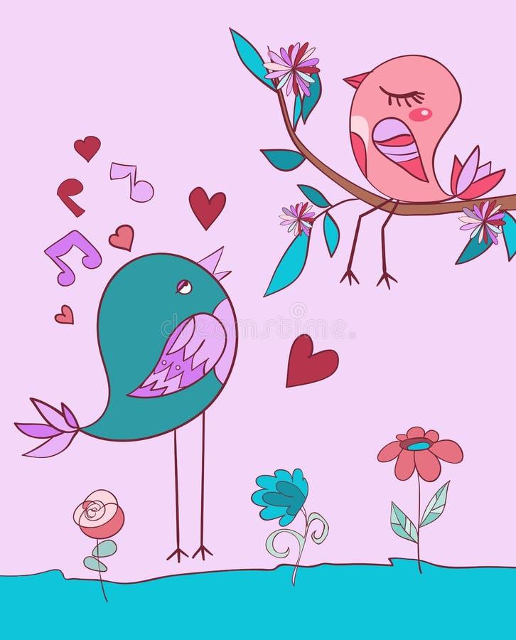Love Bird Song Royalty Free Stock Photography