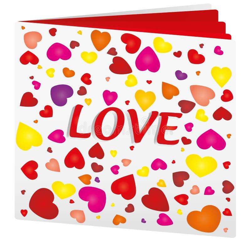 Download Love book stock vector. Illustration of advertizing, casebound - 17794058