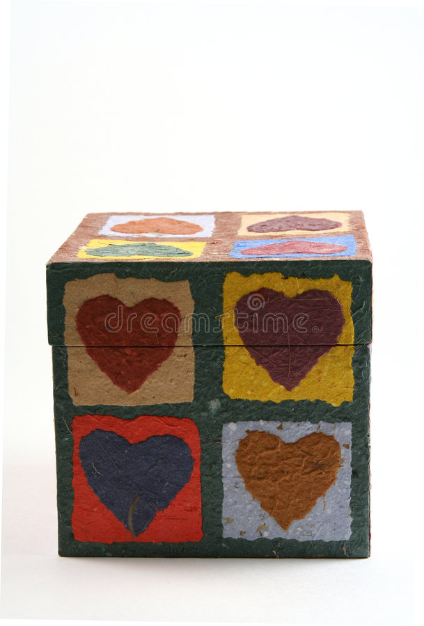 Love in a box royalty free stock image