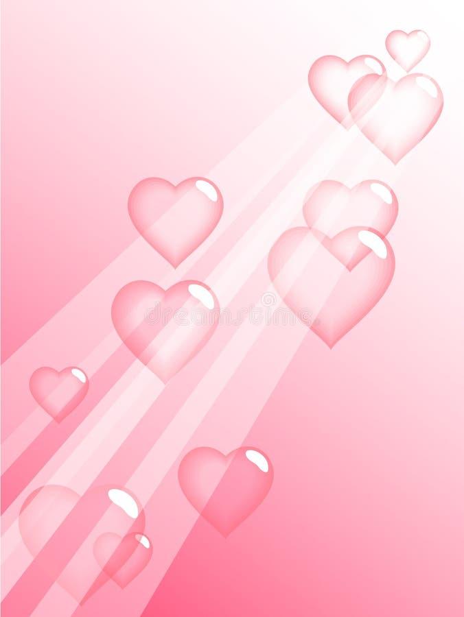 Love bubbles. stock illustration