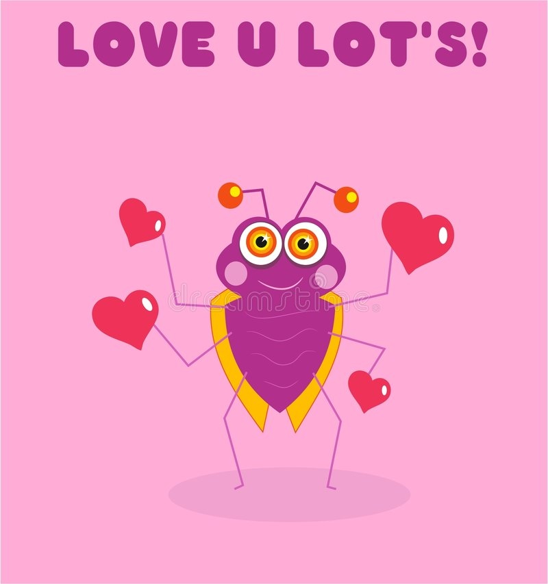 Download Love Bug Royalty Free Stock Photography - Image: 89197