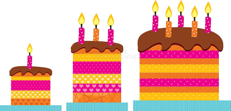 Download Love Cake stock vector. Image of crust, cake, celebration - 10331309