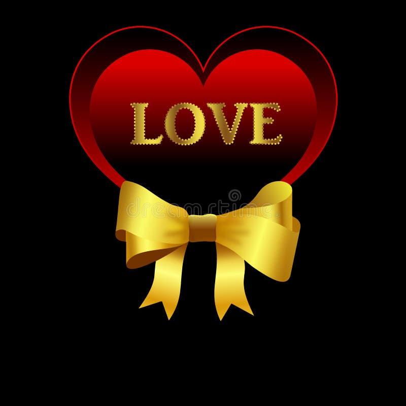 Download Love card stock illustration. Illustration of card, design - 28538803