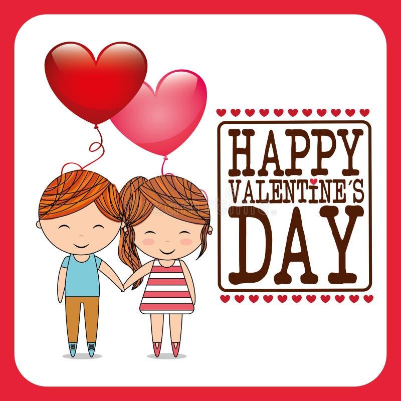 Love card design. Illustration eps10 graphic stock illustration