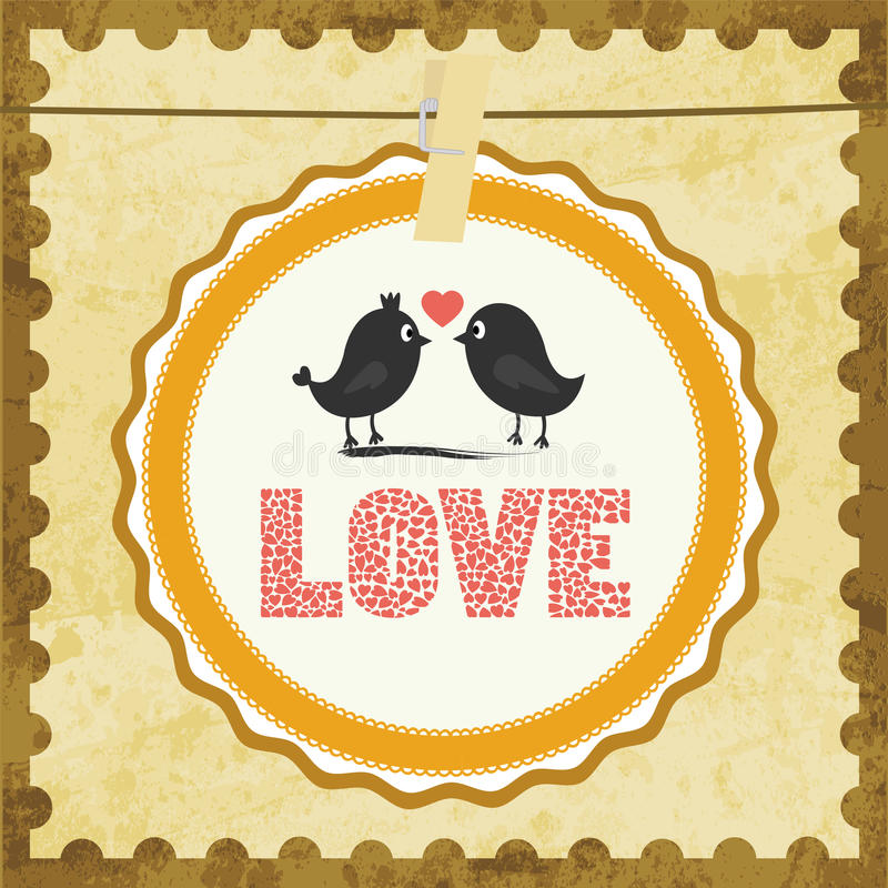 Download Love Card13 Stock Image - Image: 33080701