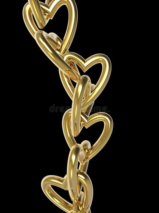 Love Chains stock illustration