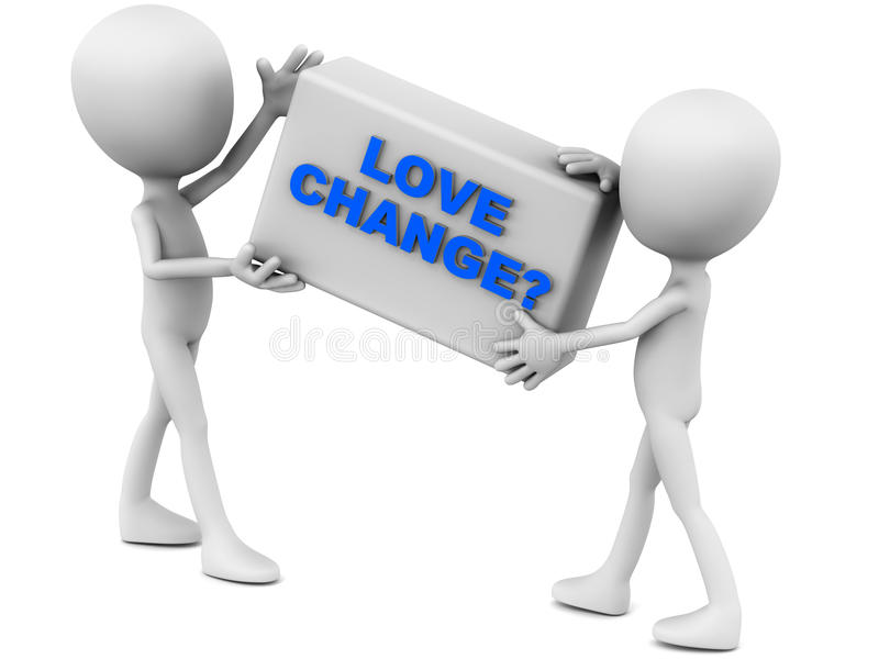 Download Love change stock illustration. Illustration of embrace - 28526101