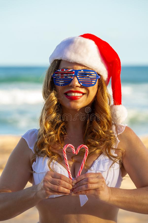 Love Christmas in Australia royalty free stock images