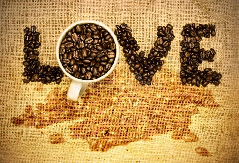 Love Coffee Royalty Free Stock Image