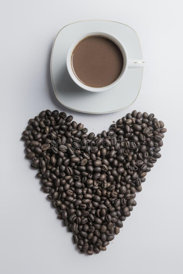 Love Coffee stock photography
