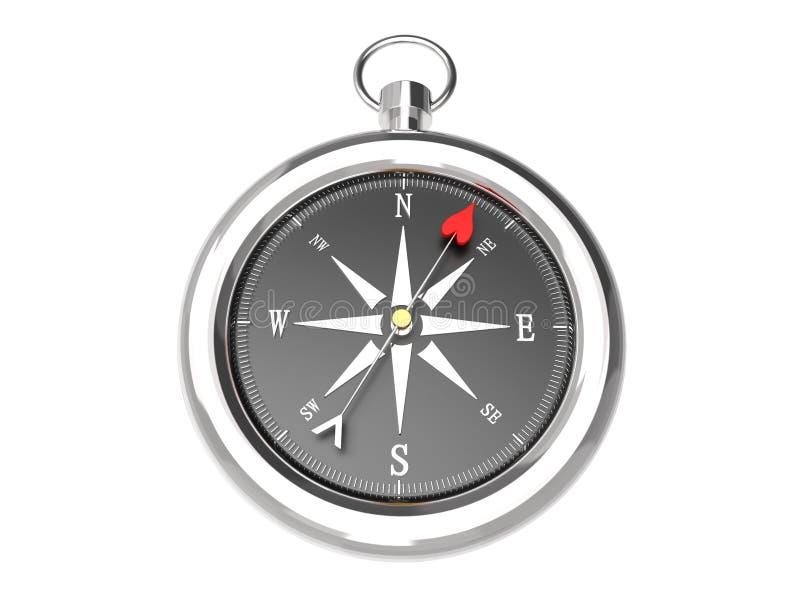 Love Compass stock illustration