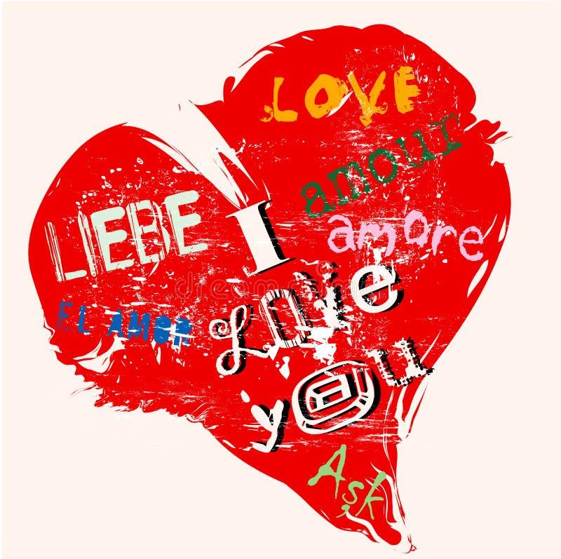 Love concept stock illustration