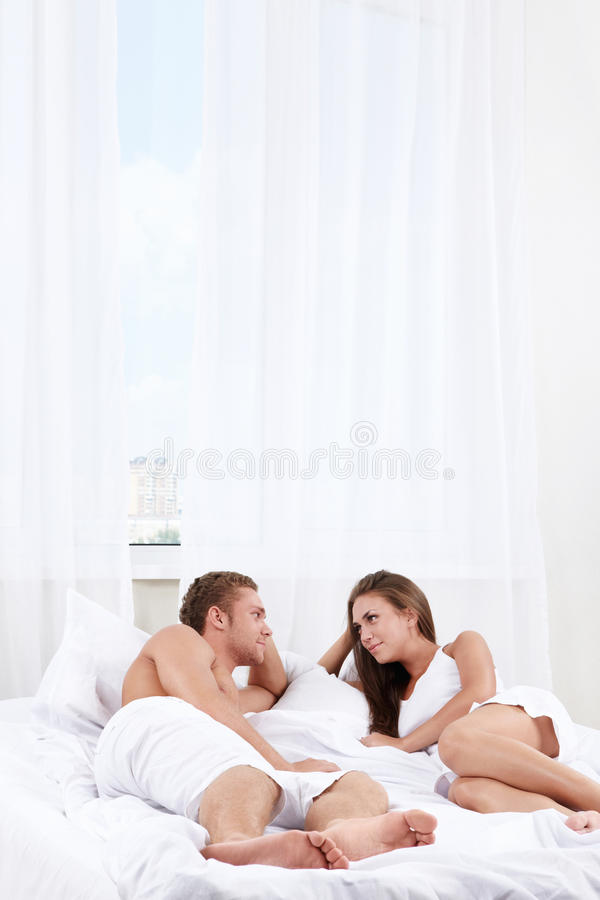 Love couple in bedroom royalty free stock photos image for Love bedroom photo
