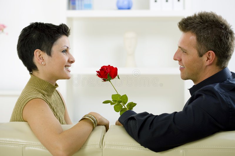 Download Love Couple - Rose Royalty Free Stock Photo - Image: 7114935