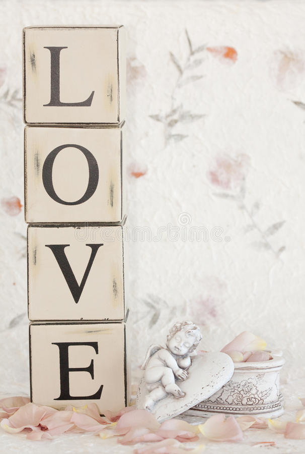 Love Cupid royalty free stock photo
