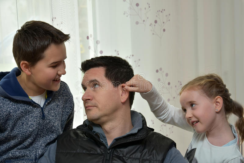 We love daddy stock photos